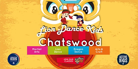 Lion Dance Kids  - Active Lion Kids Class (Willoughby) tickets