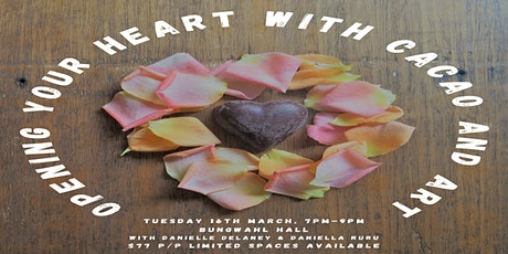 Open Your Heart with Cacao and Art tickets