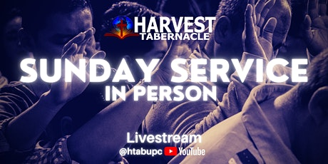 Harvest Tabernacle [Evening]  RSVP 3.7.2021 tickets