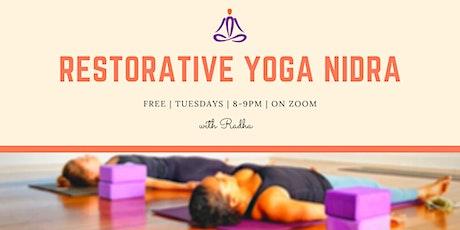 Restorative Yoga Nidra tickets