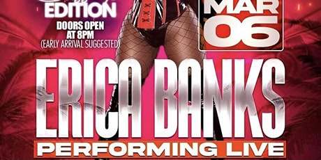 Erica Banks @ King Of Diamonds Miami 3/6/21 PERFORMING LIVE tickets
