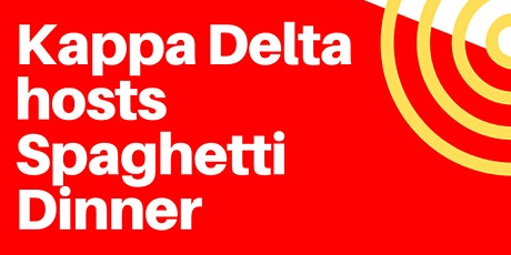 Spaghetti Dinner Hour 1 (4:30-5:30) tickets