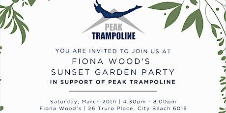 Peak Trampoline Sunset Garden party tickets