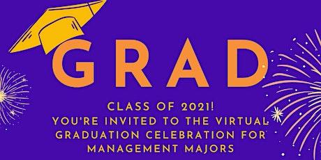 2021 Management Graduation Celebration tickets