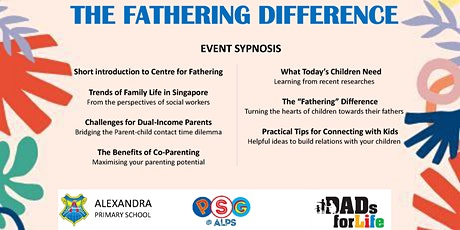 The Fathering Difference tickets
