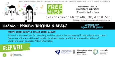 'Rhythm & Beats' Samba ya Bamba to the Beat! tickets