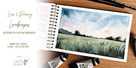 Dreamy Landscapes Watercolour Workshop tickets