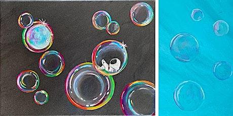 Bubbles- Acrylics with Jen Livia tickets