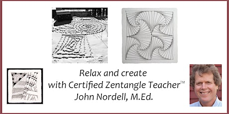 Third Tuesday Tangle - Relax with a Zentangle® Drawing Workshop - 4/20/21 tickets