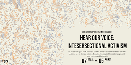 Hear Our Voice: Intersectional Activism Panel tickets