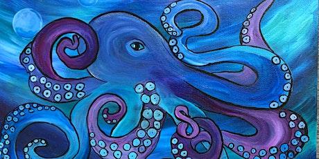 Poseidon Paint and Sip Class tickets