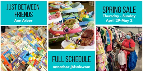 JBF Ann Arbor FREE General Admission Thursday - Sunday tickets