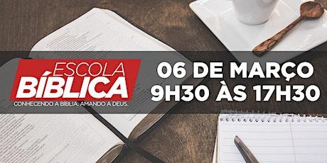 Escola Bíblica e DNA - 06-03-2021 -  9:30 h à 17:0 ingressos
