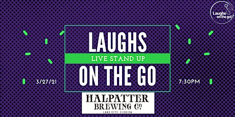 Laughs on the Go at Halpatter Brewing Co.  - A Live Stand Up Comedy Event tickets