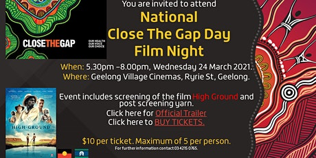 National Close The Gap Day Film Night tickets