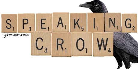Speaking Crow April 2021 Virtual Edition with J.R. Léveillé tickets