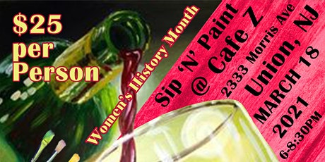 Cafe Z Sip 'N' Paint tickets