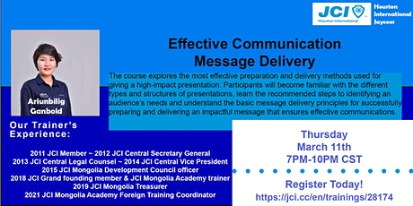 Effective Communication: Message Delivery tickets