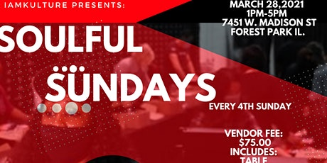 I Am Kulture Presents Soulful Sundays tickets