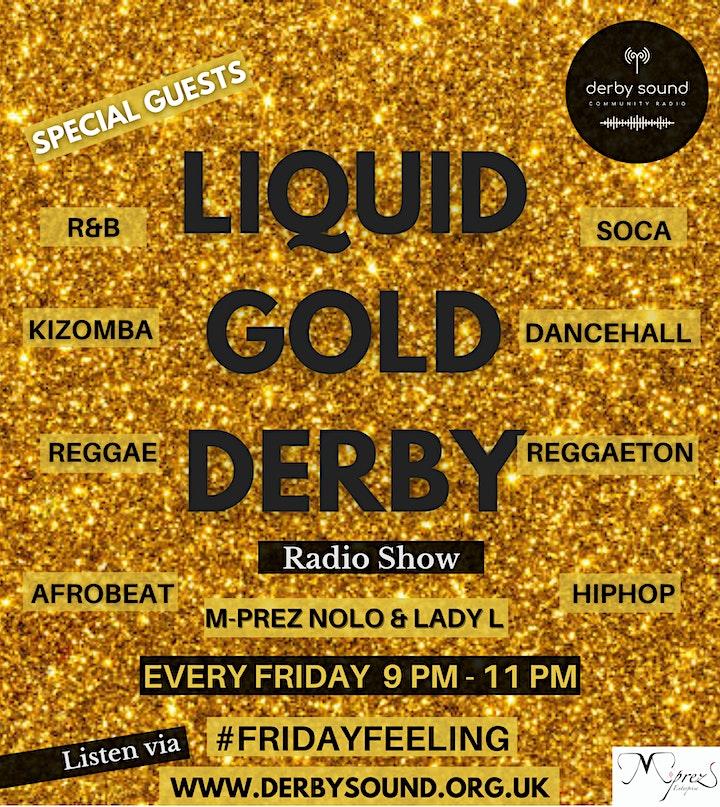 Liquid Gold Derby Online Radio Show image