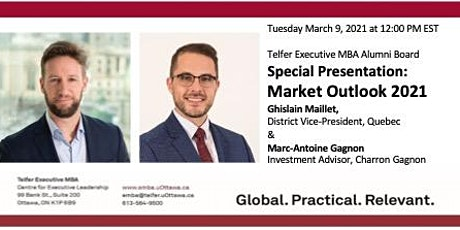 Telfer EMBA Alumni Board - Special Presentation:  Market Outlook 2021 tickets