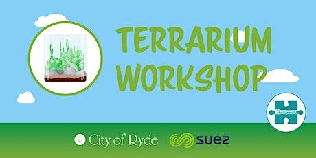 Terrarium Workshop - AGES 9+ Years tickets