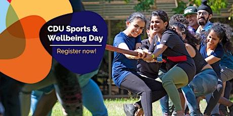 CDU Sports & Wellbeing Day tickets
