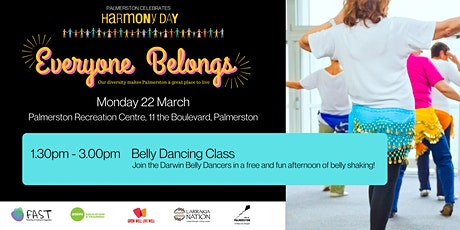 Harmony Day - Belly Dancing Workshop tickets