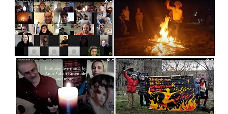 Chaharshanbe Suri Free Online Celebration-NYC &Beyond  2021 چهارشنبه ‌سوری tickets