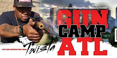Gun Camp ATL: Basic+Advanced Firearms Skills & Defense Training tickets