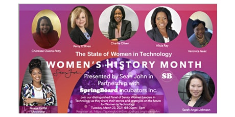 Women's History Month - The State of Women in Technology tickets