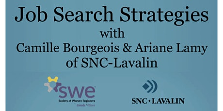 Job Search Strategies with SNC-Lavalin tickets