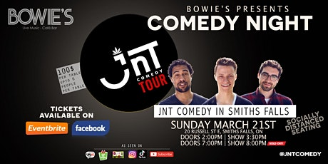 Comedy Night | JNT Comedy Tour @ Bowie's Smiths Falls | MATINÉE SHOW tickets