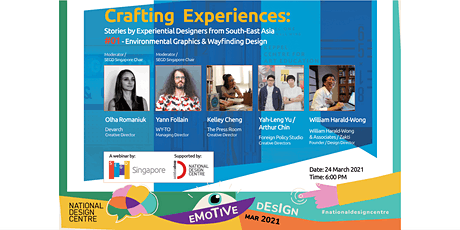 Crafting Experiences: Stories by Experiential Designers from SEA tickets