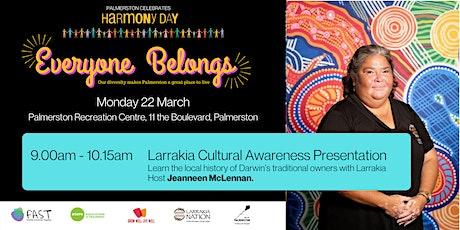 Harmony Day - Larrakia cultural awareness presentation tickets