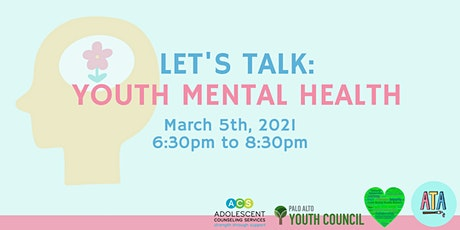 Let's Talk: Youth Mental Health tickets
