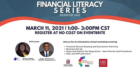 Financial Literacy Series for DBEs and Small Businesses tickets