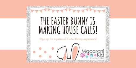 Personal visits from the Easter Bunny! tickets