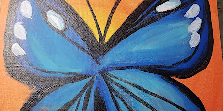 Free Virtual Painting Class - Butterfly tickets