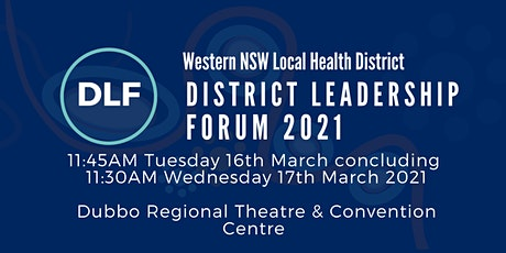 WNSWLHD District Leadership Forum tickets