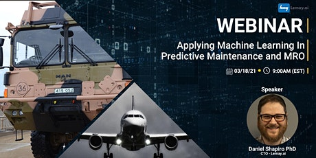 Applying Machine Learning in Predictive Maintenance and MRO tickets