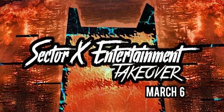 Underground Nights: Sector X Takeover tickets
