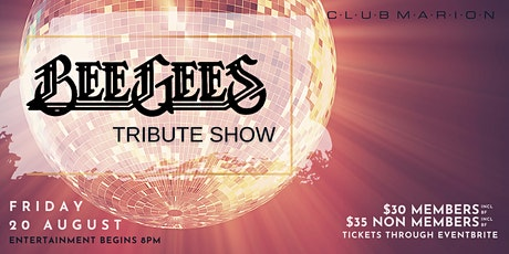 Bee Gee's Tribute Show tickets