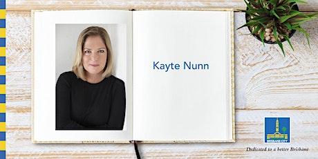 Meet Kayte Nunn - Brisbane Square Library tickets