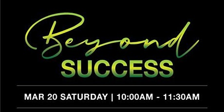 Beyond Success - MML Series by ICM Singapore tickets