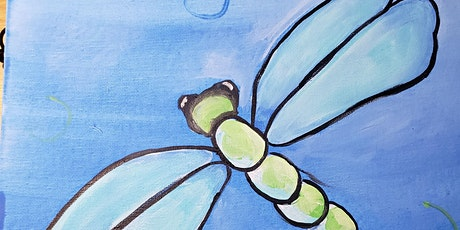 Free Virtual Painting Class - Dragonfly tickets