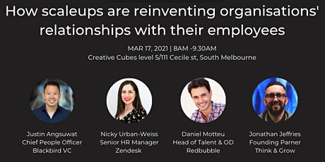 How scale-up are reinventing organisations' relationships with their teams tickets