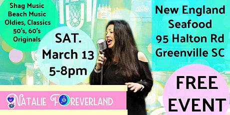 Live Music with Natalie Foreverland - 2nd Saturdays tickets