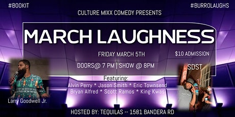 MARCH LAUGHNESS tickets