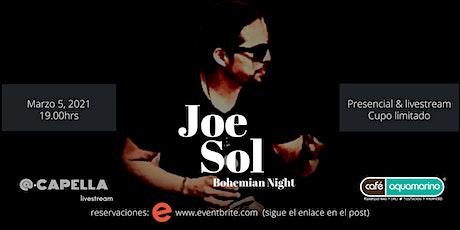 Joe Sol | Noche Bohemia de Mar tickets